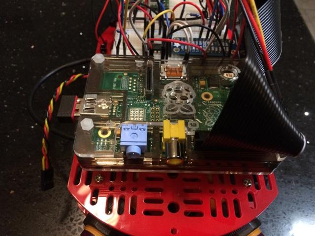 Raspberry Pi two wheeled robot - ipswichmakerspace